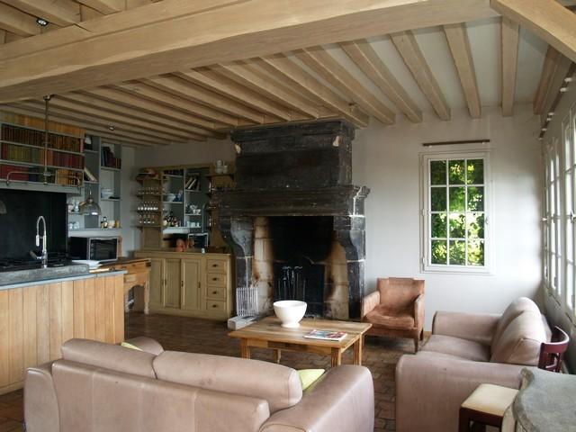 vaste maison a vendre normandie calvados entre deauville et honfleur terres et. Black Bedroom Furniture Sets. Home Design Ideas