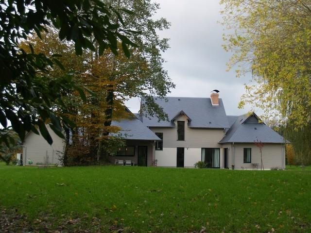 Nos biens a deauville honfleur et cabourg maison ossature bois a vendre normandie a 5 mn - Couverte d ardoises ...