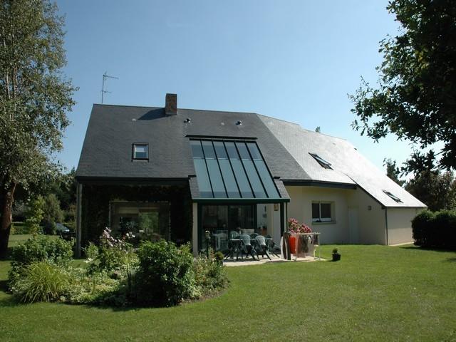 maison d 39 architecte a vendre normandie manche proximite granville terres et demeures. Black Bedroom Furniture Sets. Home Design Ideas