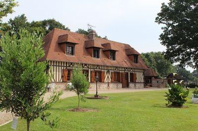 Acheter pavillon avec toit en chaume 4 chambres honfleur for Restauration maison normande