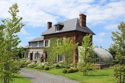 Ventes maison de charme r gion cormeilles eure terres et demeures de normandie - Maison de charme normandie ...