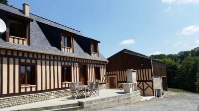 Maison à colombage à vendre à seulement 15 minutes de la mer Calvados 14