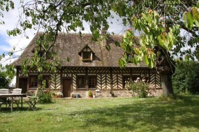 acheter une maison normande et ses dépendances à environ 30 minutes de la mer et de Honfleur Calvados 14
