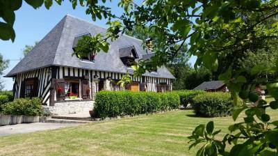 A vendre maison normande dans un environnement agréable région Pont L'eveque 14130
