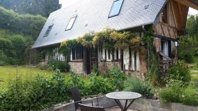 A vendre maison de charme dans un cadre buccolique proche de Pont Audemer 27500