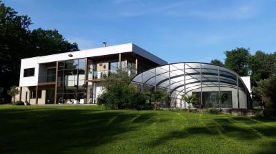 maison d 39 architecte r gion cormeilles eure 27 terres et demeures de normandie. Black Bedroom Furniture Sets. Home Design Ideas