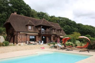 A acheter Maison Normande récente vue imprenable en Normandie