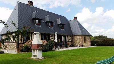 En vente maison normande rénovée proche de Cormeilles 27260