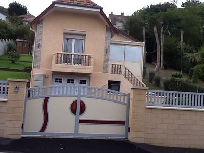 A vendre, propriété bord de mer, 2 chambres, plain pied, Seine Maritime Dieppe 76
