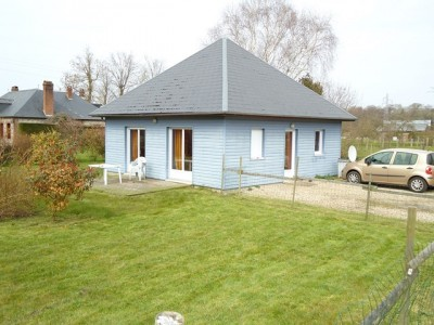 Achetez cette maison en bois, proche de la mer, entre Dieppe et Veules les Roses