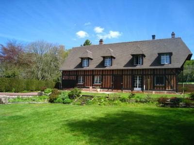 Achetez cette belle maison normande située entre Auffay et Les Grandes Ventes, à 25 minutes de Dieppe en Seine-Maritime (76), Normandie