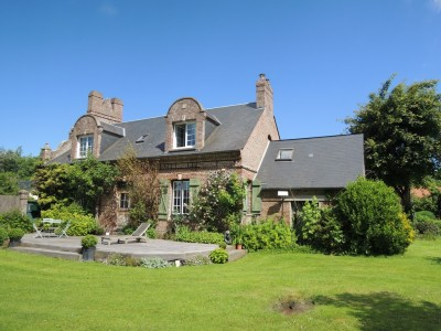 Achetez cette belle demeure de charme sur la côte d'albâtre en Seine-Maritime (76)