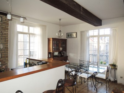 Achetez ce bel appartement entre port et plage, au coeur d'un quartier historique de Dieppe (76) en Haute-Normandie.