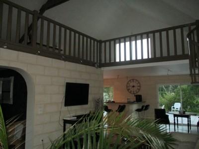 Belle maison contemporaine avec piscine intérieure proche Dieppe