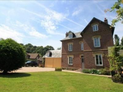 Achetez cette magnifique maison de maître, 3 chambres, à 5 minutes de la plage de Pourville - Dieppe (76) en Normandie