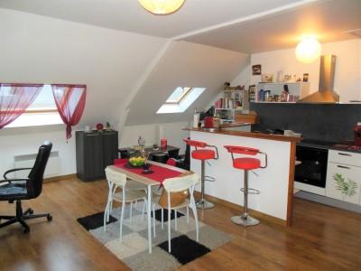 Achetez ce bel appartement proche de la mer, à deux pas du centre-ville de Dieppe (76) en Normandie.