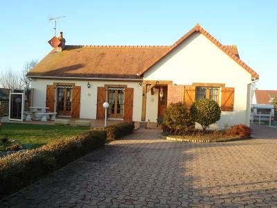 A vendre maison plain-pied Luneray (76)