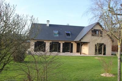Acheter cette maison contemporaine avec 5 chambres, bord de mer, Terres et Demeures de Normandie, votre agence immobilière 76200 Dieppe