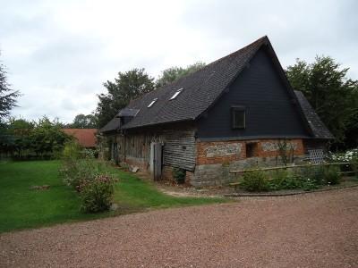 Terres et Demeures de Normandie, votre agence immobilière à Dieppe à acheter cette grange à rénover