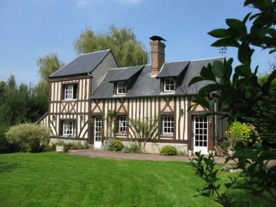 maison normande proche villers sur mer et houlgate terres et demeures de normandie. Black Bedroom Furniture Sets. Home Design Ideas