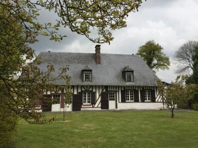 Maison normande à vendre à Cormeilles, Agence immobilière Terres et Demeures de Normandie de Lisieux
