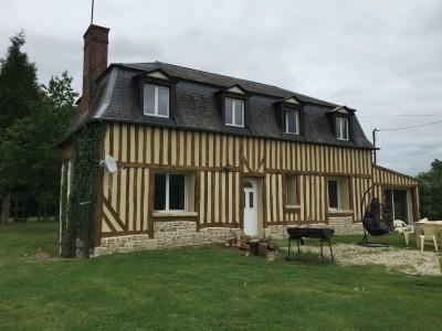 Maison normande à vendre, agence Terres et Demeures de Normandie
