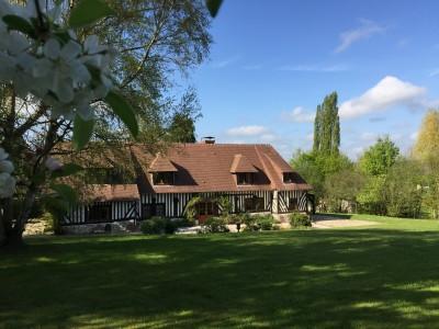 maison normande à vendre Pont-l'Evêque, agence immobilière Terres et Demeures de Normandie de Lisieux