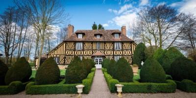 Manoir à vendre, agence immobilière Terres et Demeures de Normandie