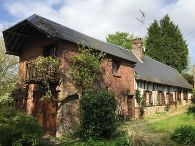 Maison à vendre près de Deauville dans le Pays d'Auge, Agence immobilière Terres et Demeures de Normandie de Lisieux