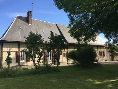 Masion à vendre près de Lyons-la-Forêt, Agence immobilière Terres et Demeures de Normandie de Lisieux