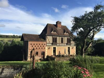Manoir à vendre près de Deauville, Agence immobilière Terres et Demeures de Normandie