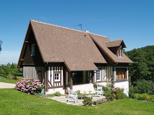 maison recente a vendre normandie calvados proche honfleur terres et demeures de normandie. Black Bedroom Furniture Sets. Home Design Ideas
